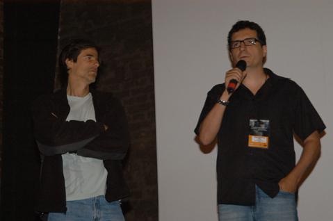 Kleber Mendonça Filho e Walter Salles