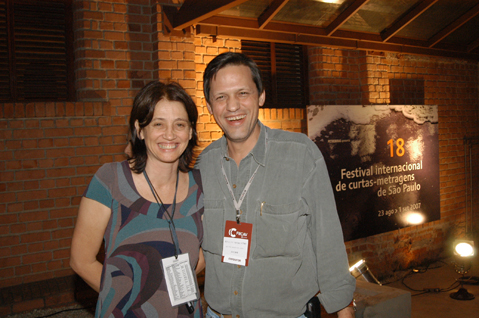 Zita Carvalhosa e Carlos Magalhães