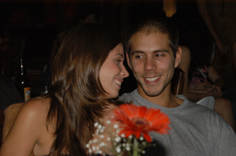 Lygia Xavier e Pepe