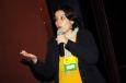 Vanessa Reis durante o Encontro KinoOikos