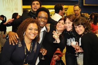 Márcia Vaz, Jefferson De, Claudia Priscilla, Cris Arena and Flora Lahuerta by Marcos Finotti