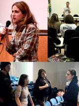 Jovens realizadores presentes no Abril Universitário